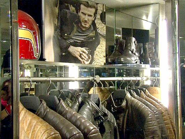 Дэвид Бекхэм создает одежду для байкеров