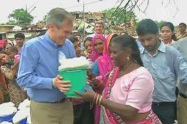 Новая интернет-кампания в Индии: рис вёдрами