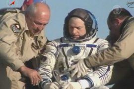 Очередной экипаж МКС успешно вернулся на Землю
