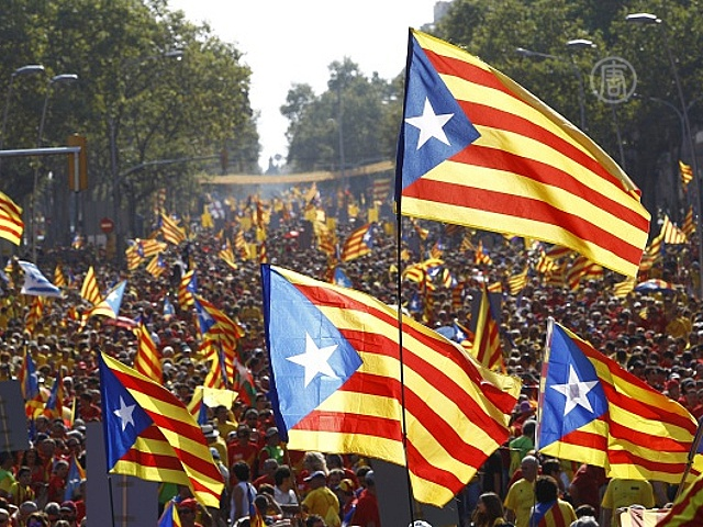 Каталония выступает за независимость от Испании