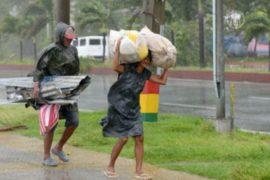 На Филиппины обрушился тайфун «Калмаеги»