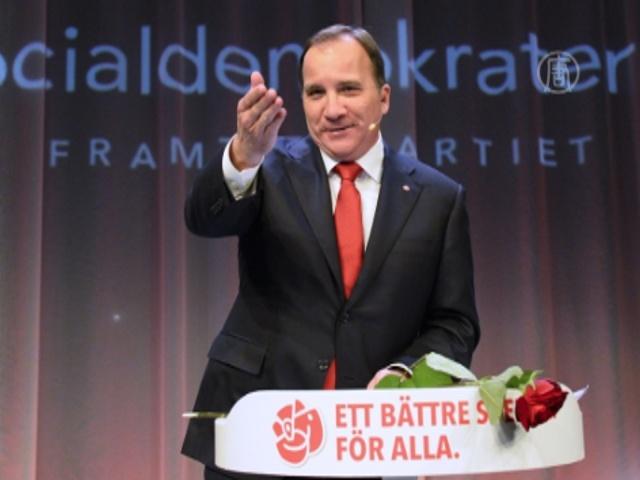 На выборах в парламент Швеции победила оппозиция