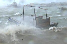 В Китае бушует тайфун «Калмаеги»