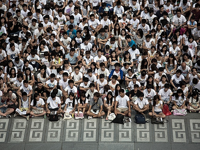 Студенты Гонконга начали недельный протест