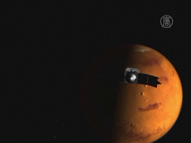 Индийский спутник долетел до Марса