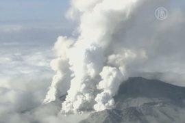 На вулкане Онтакэ продолжают разыскивать туристов