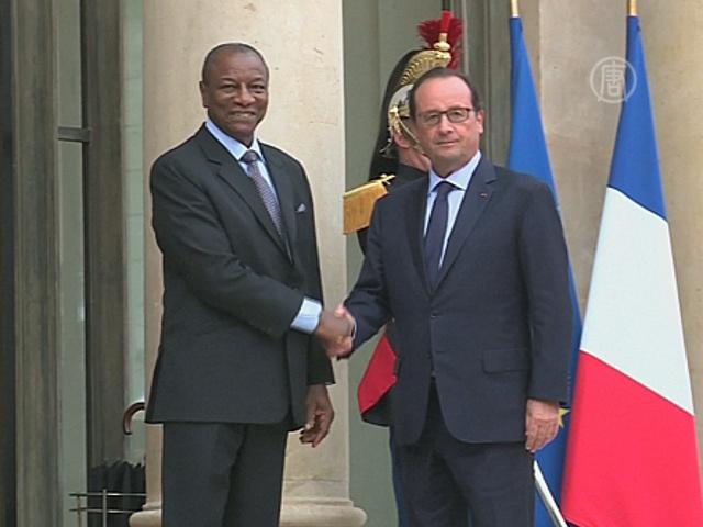 Франция поможет Гвинее бороться с Эболой