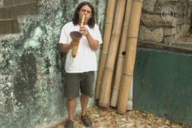 Саксофон из бамбука – возможно и такое