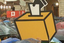 Каталонцы митингуют в поддержку референдума