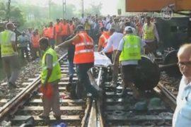 В Индии столкнулись пассажирские поезда, 12 жертв