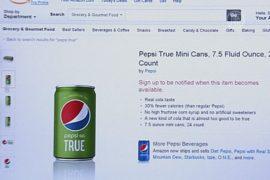Pepsi продаёт новый напиток только через Amazon