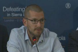Волонтёр из Британии призвал остановить Эболу