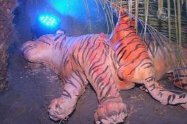 На индуистском празднике призвали сохранить тигров