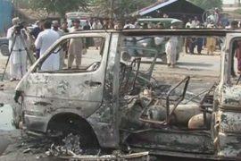 В пассажирском автобусе в Пакистане прогремел взрыв