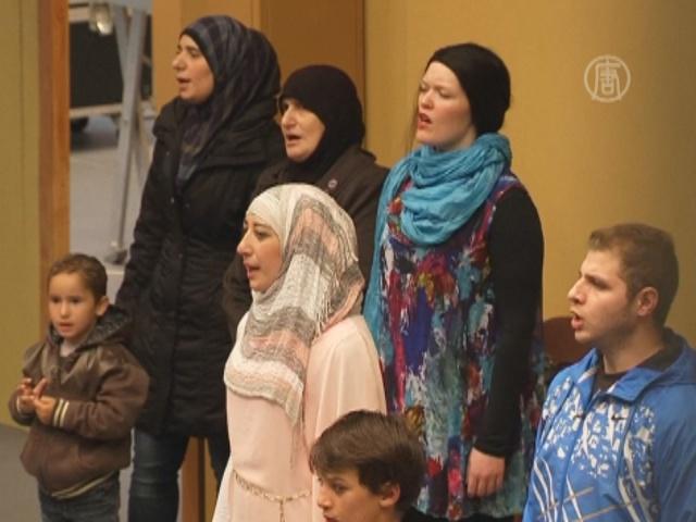 Сирийские беженцы поставили оперу Моцарта