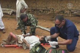 Удар молнии убил 11 индейцев в Колумбии