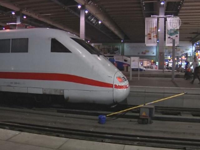 Стачка машинистов Германии разозлила пассажиров