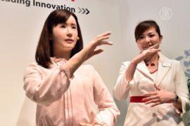Выставка роботов (CEATEC) началась в Японии