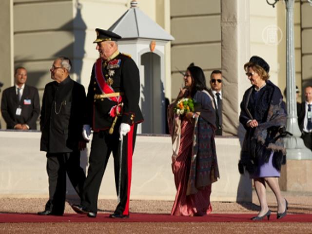 Президент Индии впервые посетил Норвегию