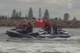 В Австралии активисты пытались заблокировать порт
