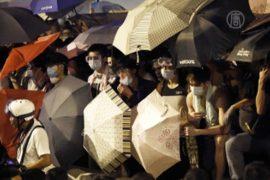 Вторую ночь подряд в Гонконге — столкновения