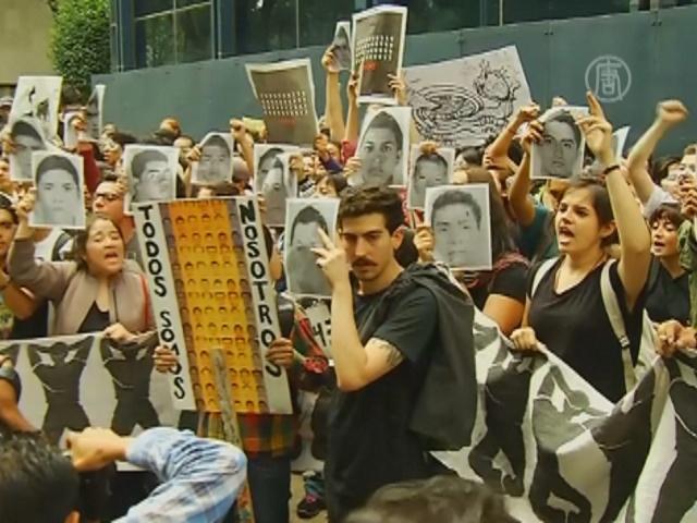 Протестующие в Мексике напали на офис прокурора