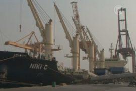 Шиитские мятежники захватили порт в Йемене