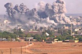 В сирийском Кобани идут тяжёлые бои