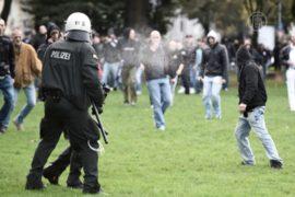 Кёльн: неонацисты устроили беспорядки