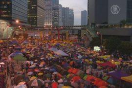 Активисты Гонконга отметили месяц протестов