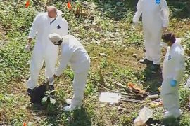 В Мексике снова нашли свежую братскую могилу