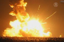 Ракета с грузом для МКС взорвалась при старте