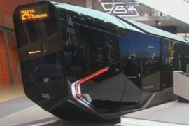 Трамвай будущего добрался до выставки в Москве