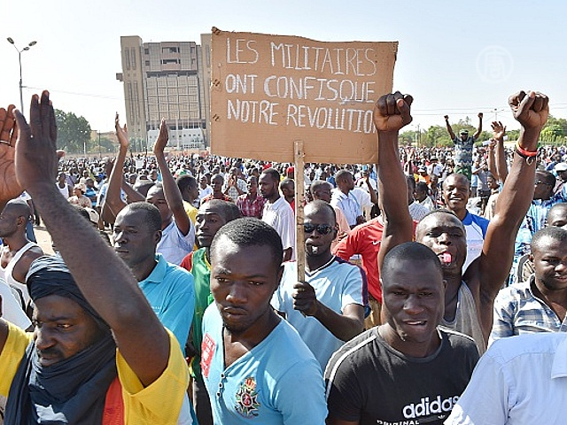 Буркинийцы: «Солдаты украли нашу революцию»