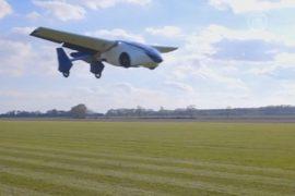 Летающий автомобиль представили в Вене