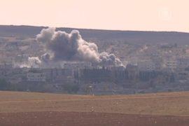 Курды Кобани держат осаду с подкреплением