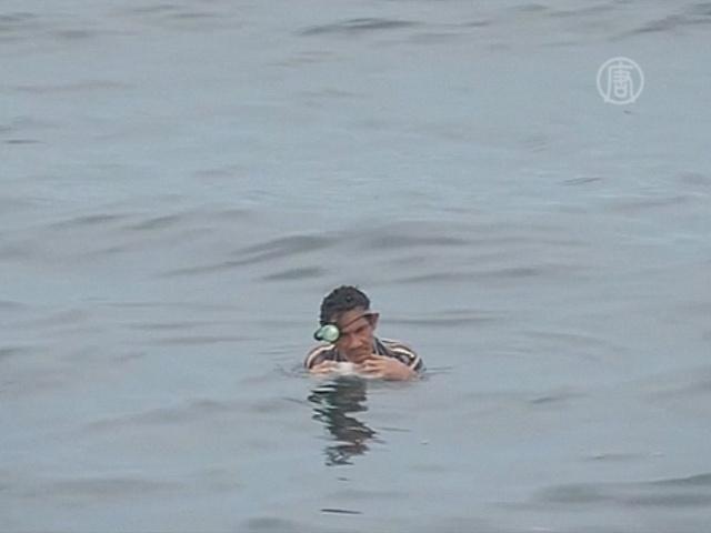 В Колумбии спасли рыбака после двух дней в океане