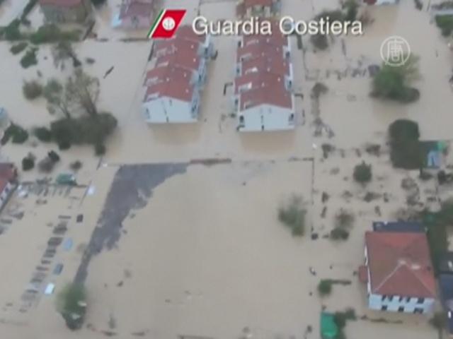 Часть Италии ушла под воду