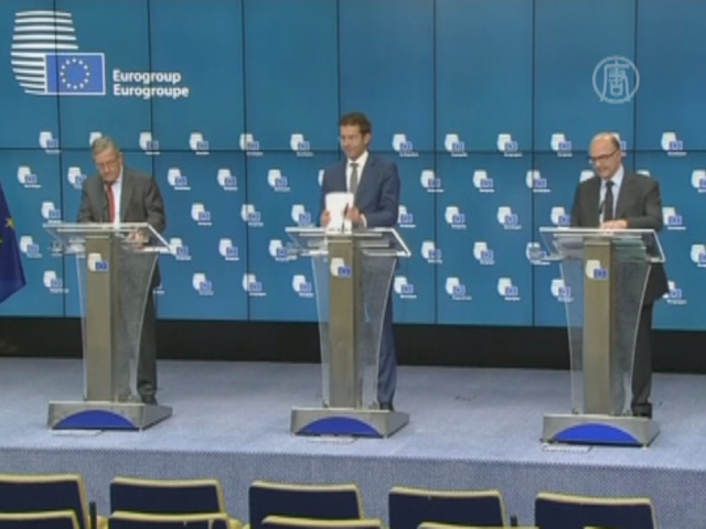 Еврозона готова поддержать Грецию кредитной линией