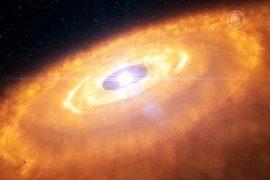 Астрономы смогли увидеть рождение звёздной системы