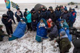 Международный экипаж МКС благополучно вернулся