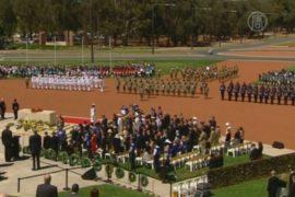 Австралия почтила погибших в Первой мировой войне