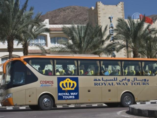 Туристические автобусы в Египте оборудуют GPS