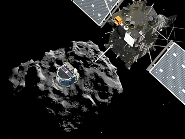 Зонд «Розетта» сядет на комету