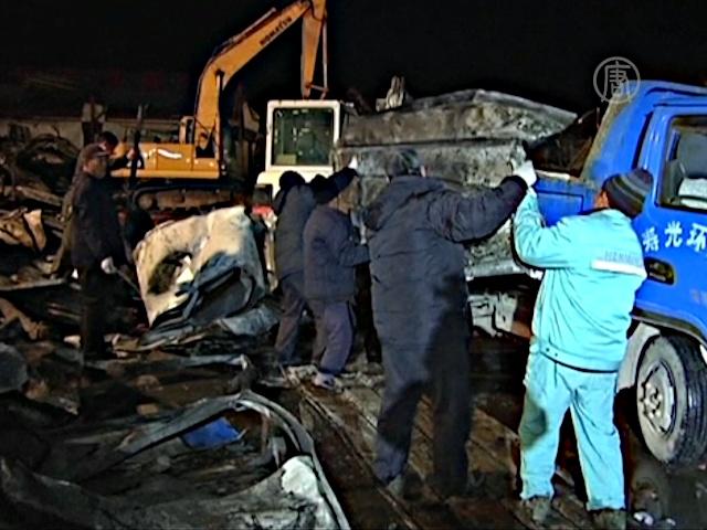 18 человек погибли при пожаре на заводе в Китае