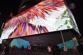 На Таймс-сквер установили самый большой билборд