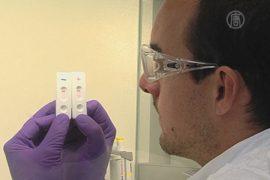 Через 6 месяцев появится экспресс-тест на Эболу
