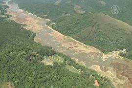 Бразильское водохранилище настигла засуха
