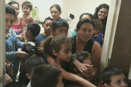 В Мехико протестовали против заключения детей