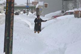 В Буффало ожидают за сутки годовой нормы снега